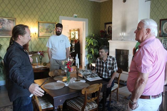 Martin berättar om Kvarnbos historia