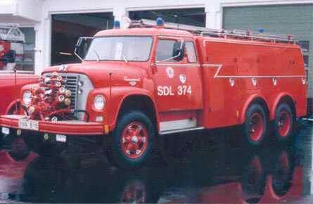 En ovanlig Loadstar 1700 S med dubbelmontage hos  brandkåren i ängelholm