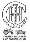 Svenska IH-klubben/IHCC #22 Logo
